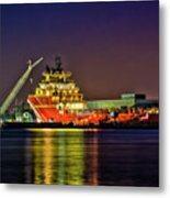 Night Overhaul Metal Print