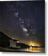Night Patrol Lake Tahoe Metal Print