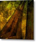 Night Sailing Metal Print