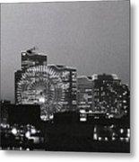 Night Scene Of Yokohama Metal Print by Snap Shooter jp