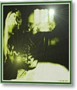 Night Search No. 14 H B With Decorative Ornate Printed Frame. Metal Print