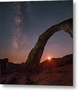 Night Sky At Corona Ach Metal Print