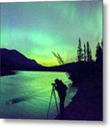 Night Sky Photographer Metal Print