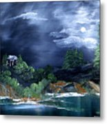 Night Sky Metal Print