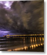 Night Storm Metal Print