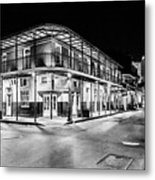 Night Time In The City Of New Orleans I Metal Print