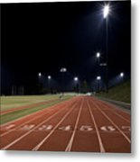 Night Time Run Metal Print