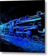 Night Train To Romance Metal Print by Aaron Berg