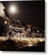Night Train Metal Print