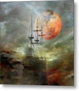 Night Travel Metal Print