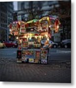 Night Vendor Metal Print