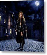 Night Warrior Metal Print