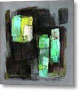 Texture Of Night Painting Metal Print