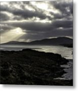 Nightfall Isle Of Harris Metal Print