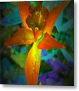 Nightgown Floral Metal Print