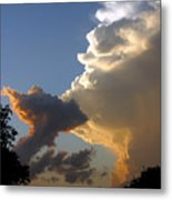 Nightly Storm Metal Print