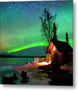Nights Bliss Metal Print