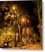Nights San Jose Downtown  Metal Print