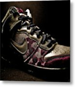 Nike Dunks Metal Print by Allison Badely