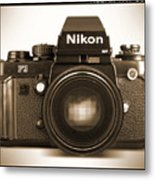 Nikon F3 Hp Metal Print