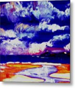 Nimbus Clouds Over Mumbles Metal Print