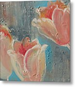 Nine Tulips Metal Print