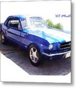 Nineteen Sixty-five Mustang Metal Print