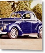 Nineteen Thirty Eight Ford Coupe Metal Print