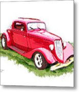 Nineteen Thirty-two Ford Coupe Metal Print