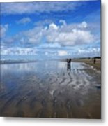 Ninety Mile Beach New Zealand Metal Print