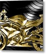 Ninja Motorcycle Collection Metal Print
