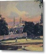 Nitra - Nyitra Slovakia, Cca 1900 Metal Print