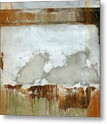 Nj Abstract Two Metal Print