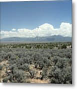 New Mexico Landscape 3 Metal Print