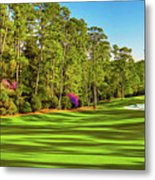 No. 10 Camellia 495 Yards Par 4 Metal Print