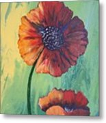 No. 17 Spring And Summer Floral Series Metal Print