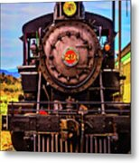 No 29 Virgina Truckee Train Metal Print