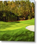 No. 4 Flowering Crabapple Par 3 240 Yards Metal Print
