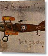 No. 6 Squadron Bristol Aeroplane Company Metal Print