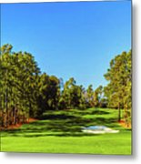 No. 8 Yellow - Jasmine 570 Yards Par 5 Metal Print