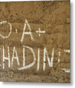 No A  Chadin II Metal Print