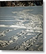 No Business Like Snow Business Metal Print