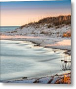 No Footsteps In The Sand #101 Metal Print