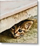 No Place To Hide Metal Print
