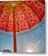 No Shade Metal Print