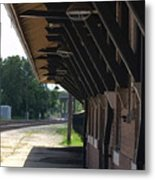 No Sign Of The Train Metal Print
