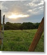 No Tresspassing Metal Print