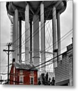 No Turn On Red, Frederick, Maryland, 2015 Metal Print