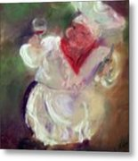 No Wine Before Its Time Metal Print