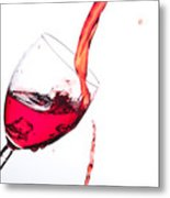 No Wine Was Harmed During The Making Of This Image Metal Print